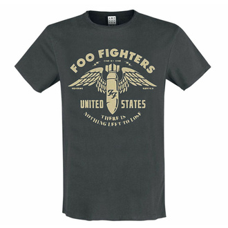 moška majica FOO FIGHTERS - ONE BY ONE - CHARCOAL - AMPLIFIED, AMPLIFIED, Foo Fighters