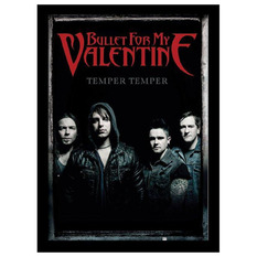 Uokvirjen plakat Bullet For My Valentine - Group - PYRAMID POSTERS, PYRAMID POSTERS, Bullet For my Valentine