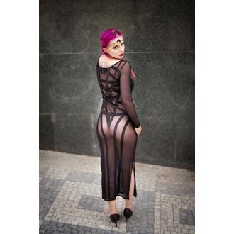 obleko ženske KILLSTAR - Zandra Mesh - Črno, KILLSTAR