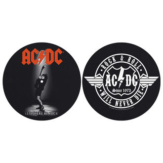 Gramofon Podloge (Set 2) AC / DC - LET THERE BE ROCK! ROCK AND ROLL - RAZAMATAZ, RAZAMATAZ, AC-DC