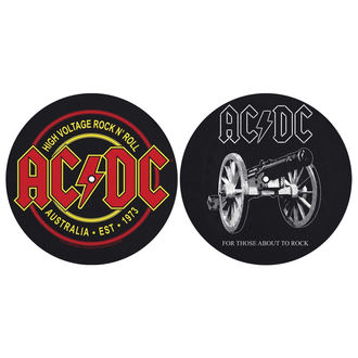 Gramofon Podloge (Set 2) AC / DC - FOR THOSE MOUT TO ROCK - VISOKO NAPETOST - RAZAMATAZ, RAZAMATAZ, AC-DC