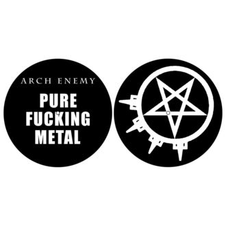 Gramofon Podloge (Set 2) ARCH ENEMY - PURE FUCKING METAL - RAZAMATAZ, RAZAMATAZ, Arch Enemy