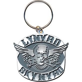 Obesek za ključe Lynyrd Skynyrd (Biker Patch Logo) - ROCK OFF, ROCK OFF, Lynyrd Skynyrd