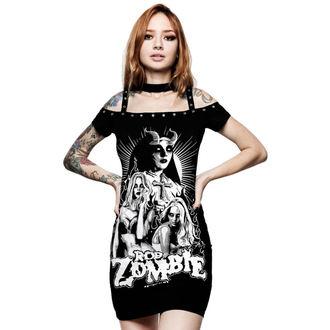 Ženska obleka KILLSTAR - Rob Zombie - Lust for death - ČRNA, KILLSTAR, Rob Zombie