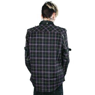 Moška srajca KILLSTAR - Lux - TARTAN, KILLSTAR
