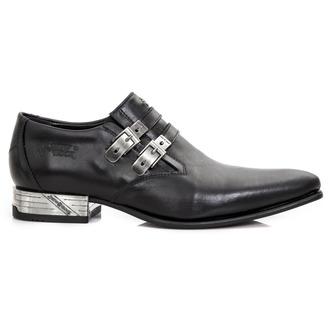 Unisex usnjeni čevlji - ANTIK PULIDO-NEGRO, VIP1 NEGRO - NEW ROCK, NEW ROCK