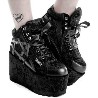 Ženski škornji s polno peto - MALICE PLATFORM TRAINERS - KILLSTAR, KILLSTAR