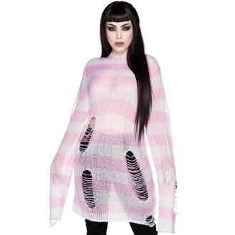 Ženski pulover KILLSTAR - Marshmallow - ROZA, KILLSTAR