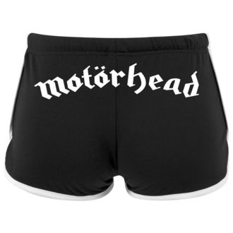 Ženske kratke hlače Motörhead - Logo - URBAN CLASSICS, NNM, Motörhead