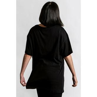 Ženska majica KILLSTAR - Meditation Relaxed - Črna, KILLSTAR