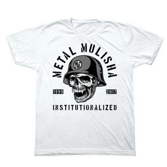 Moška ulična majica - INSTITUTIONLIZED - METAL MULISHA - M1851831.01, METAL MULISHA