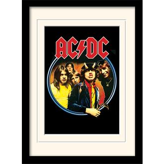 Uokvirjen plakat AC / DC - (&&string0&&) - PYRAMID POSTERS, PYRAMID POSTERS, AC-DC
