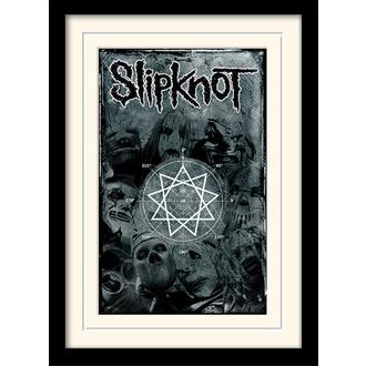 Uokvirjen plakat Slipknot - (&&string0&&) - PYRAMID POSTERS, PYRAMID POSTERS, Slipknot