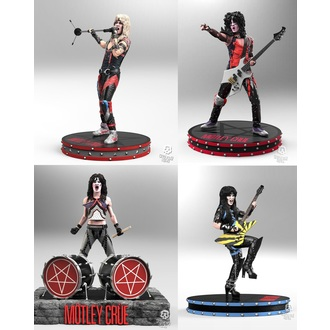 Figure (set) Mötley Crüe - Band - Rock Iconz, KNUCKLEBONZ, Mötley Crüe