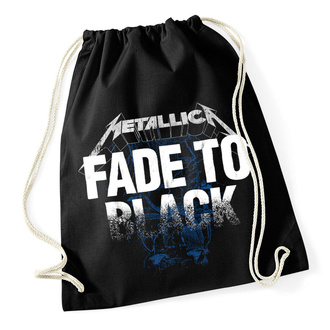 Nahrbtna Vreča (nahrbtnik) Metallica - Fade To Black - Zategovanje Črna, NNM, Metallica