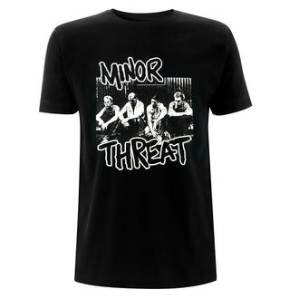 Moška majica Minor Threat - Xerox - Črna, NNM, Minor Threat