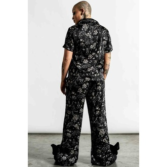ženska pižama (komplet) KILLSTAR - No Rest For The Wicked - Črna, KILLSTAR