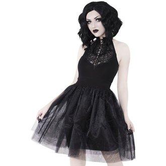 Ženska obleka KILLSTAR - NYTE NYMPH PARTY - BLACK, KILLSTAR