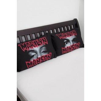 Nastavite za Vzglavnik primerov KILLSTAR - MARILYN MANSON - Spoštovani Moj Pillowcases - Črno, KILLSTAR, Marilyn Manson