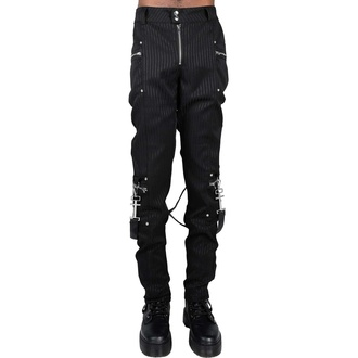 Moške hlače KILLSTAR - Office Riot Strappy - Pinstripe, KILLSTAR