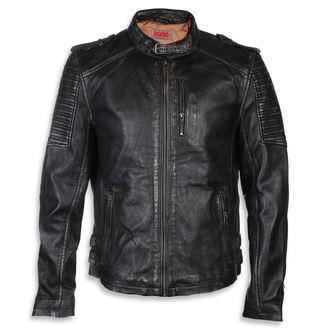 Usnjena jakna AC-DC - Črna / bež - NNM, NNM, AC-DC