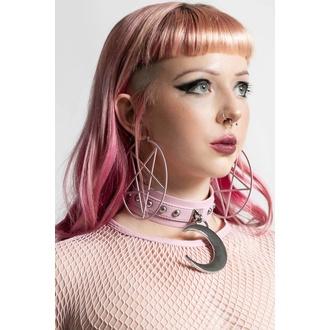 uhan KILLSTAR - Pentagram Hoop - Pastel roza, KILLSTAR