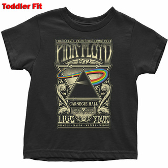 Otroška majica Pink Floyd - Carnegie Hall Poster - ROCK OFF, ROCK OFF, Pink Floyd