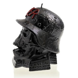 Sveča SLAYER - WEHRMACH - BLACK METALLIC - PLASTIC HEAD, PLASTIC HEAD, Slayer