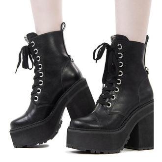 Ženski klin škornji - KILLSTAR, KILLSTAR