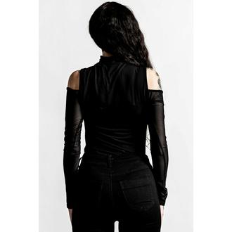 Ženska majica z dolgimi rokavi KILLSTAR - Point It Out - Črna, KILLSTAR