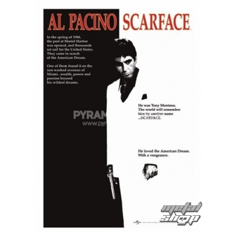 plakat Scarface (Film Enotni list) - PP30091, PYRAMID POSTERS, Scarface