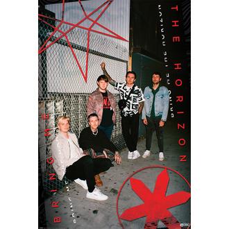 Poster BRING ME THE HORIZON - RED EYE - PYRAMID POSTERS, PYRAMID POSTERS, Bring Me The Horizon