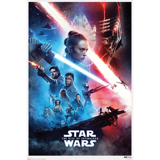 Poster STAR WARS - IX-RISE OF SKYWALKER - PYRAMID POSTERS, PYRAMID POSTERS, Star Wars