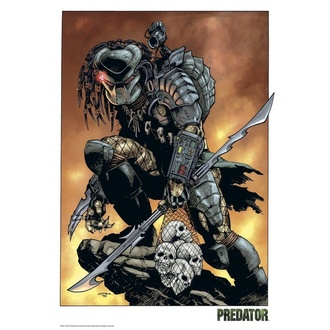 Natisnjena slika Predator - Comic, NNM, Predator