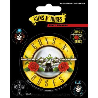 Nalepke Guns N' Roses - PYRAMID POSTERS, PYRAMID POSTERS, Guns N' Roses