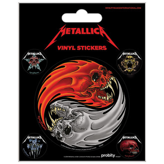 Nalepke Metallica - PYRAMID POSTERS, PYRAMID POSTERS, Metallica