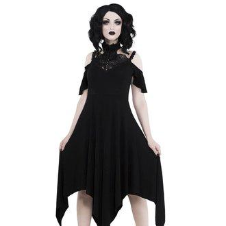 Ženska obleka KILLSTAR - PYRE PIXIE EVENING - BLACK, KILLSTAR