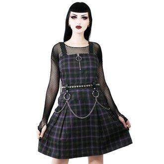 Ženska obleka KILLSTAR - Regan - TARTAN, KILLSTAR