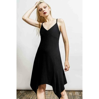 ženska obleka KILLSTAR - Rest Her Soul Lounge - Črna, KILLSTAR