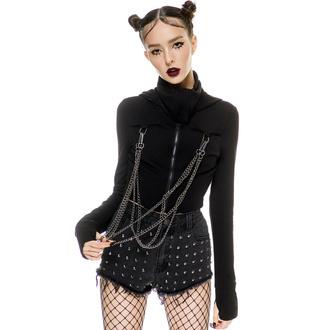 Ženski pulover KILLSTAR - Rogue Maked - Črna, KILLSTAR