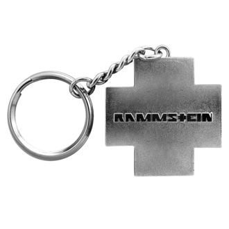 Obesek za ključe RAMMSTEIN - Logo Schlüsselanhänger - siva, RAMMSTEIN, Rammstein