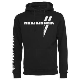 Moški hoodie Rammstein - Weißes Kreuz - črna, NNM, Rammstein