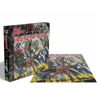 Puzzle sestavljanka IRON MAIDEN - THE ŠTEVILO IZ SPLETNE STRANI THE ZVER - 1000 JIGSAW PIECES - PLASTIC HEAD, PLASTIC HEAD, Iron Maiden