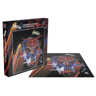 Jigsaw puzzle JUDAS PRIEST - DEFENDERS OF THE FAITH - PLASTIC HEAD, PLASTIC HEAD, Judas Priest