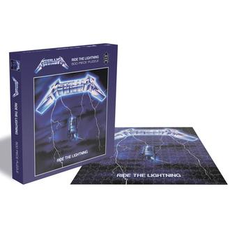 Puzzle METALLICA - RIDE THE LIGHTNING - PLASTIC HEAD, PLASTIC HEAD, Metallica