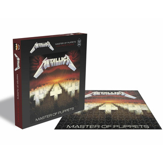 Puzzle sestavljanka METALLICA - MASTER OF PUPPETS - 1000 JIGSAW PIECES, PLASTIC HEAD, Metallica