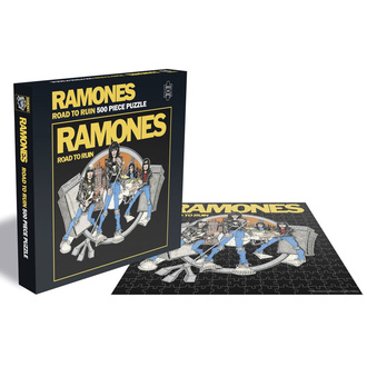 Puzzle RAMONES - ROAD TO RUIN - PLASTIC HEAD, PLASTIC HEAD, Ramones