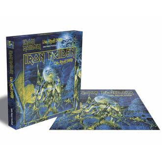 Puzzle sestavljanka IRON MAIDEN - LIVE AFTER DEATH - 500 JIGSAW PIECES - PLASTIC HEAD, PLASTIC HEAD, Iron Maiden
