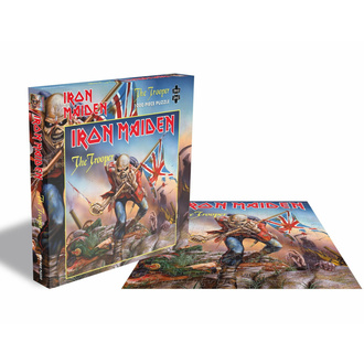 Puzzle sestavljanka IRON MAIDEN - THE TROOPER - 1000 JIGSAW PIECES - PLASTIC HEAD, PLASTIC HEAD, Iron Maiden