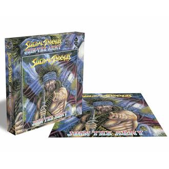 Puzzle sestavljanka SUICIDAL TENDENCIES - JOIN THE ARMY - 500 JIGSAW PIECES - PLASTIC HEAD, PLASTIC HEAD, Suicidal Tendencies